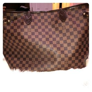 LV Never Full Tote